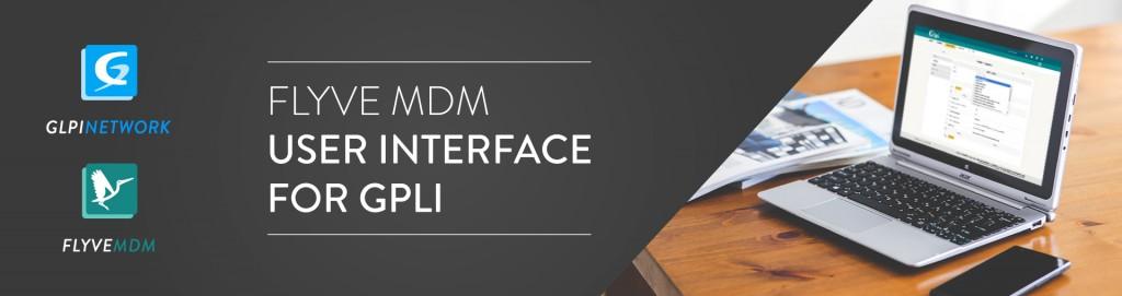 Flyve MDM interface on GLPI