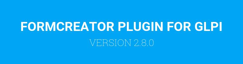 Formcreator version 2.8.0