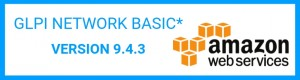 GLPI NETWORK BASIC* 9.4.3 EST DISPONIBLE SUR AMAZON WEB SERVICES.