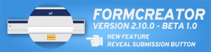 FORMCREATOR VERSION 2.10.0 – BETA 1.0