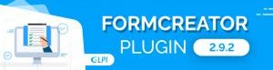 FORMCREATOR PLUGIN: LA VERSION 2.9.2 EST DISPONIBLE.