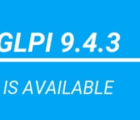 GLPI version 9.4.3 is available now!