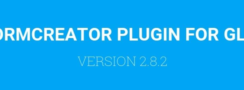FORMCREATOR 2.8.2: BUGFIXES