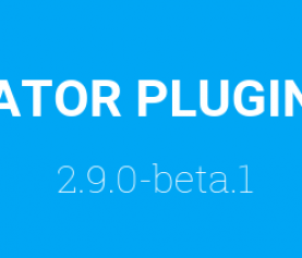 FORMCREATOR PLUGIN: VERSION 2.9.0 – BETA 1.