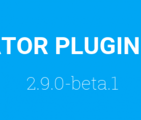 PLUGIN FORMCREATOR : VERSION 2.9.0 – BETA.1