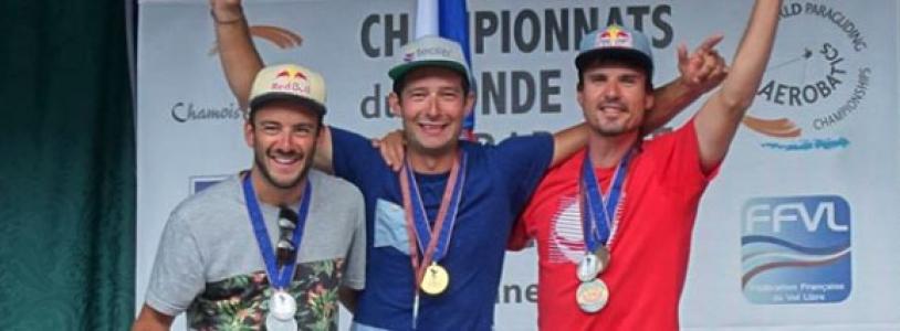Champion du Monde de Parapente 2016 F.Ragolski