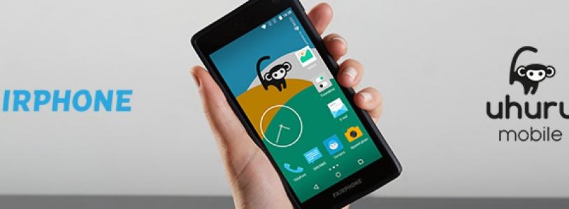 Fairphone intègre l'OS sécurisé Uhuru Mobile
