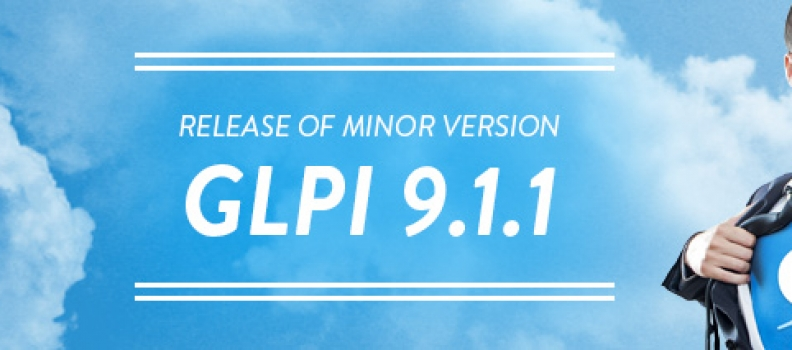 Check out the new minor version GLPi 9.1.1!