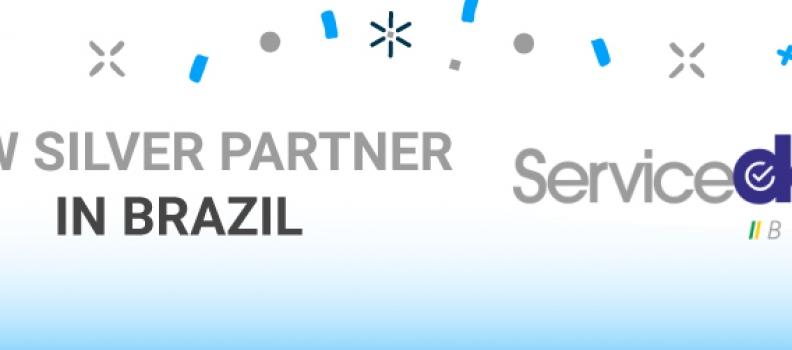 NEW SILVER PARTNER IN BRAZIL: SERVICEDESK BRASIL