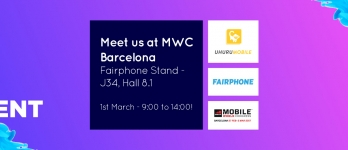 Teclib' and Fairphone at Mobile World Congress 2017