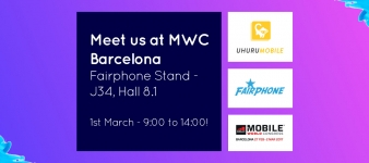 Teclib' y Fairphone al GSMA Mobile World Congress 2017