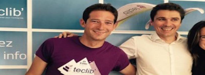 Teclib' renews its sponsorship with the paragliding community