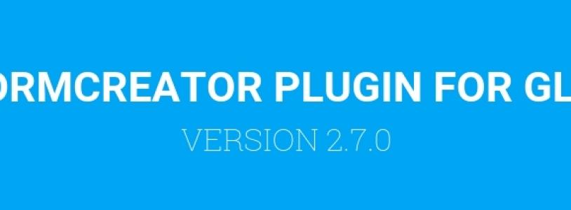FORMCREATOR PLUGIN VERSION 2.7.0 FOR GLPI