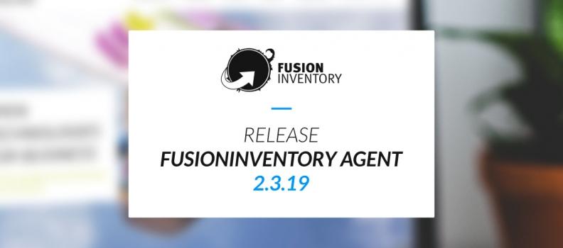 Liberación del agente FusionInventory 2.3.19
