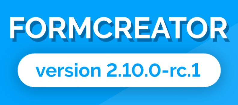 FORMCREATOR 2.10.0 -RC.1